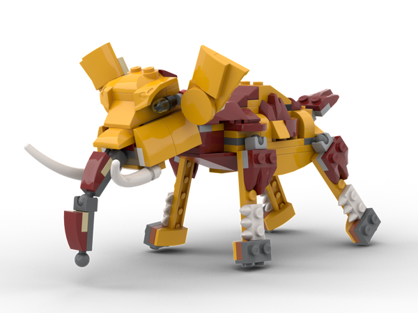 MOC - 31112 Elephant Alternative Build - How to build it