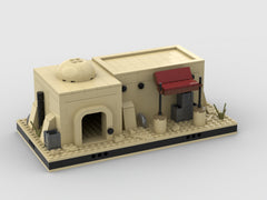 MOC - Desert House #12 for a Modular Desert space village