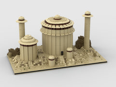 MOC - jabba's palace for a Modular Tatooine