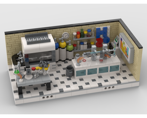 MOC - Chemistry lab - How to build it