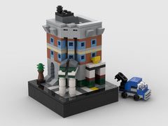 MOC - Mini SET 10264 - Corner Garage