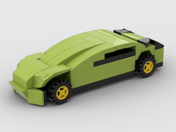 MOC - Mini SET 42115-1 - Lamborghini Sián FKP 37 - How to build it