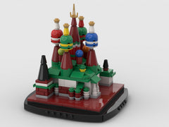 MOC - Mini Saint Basil's Cathedral - Moscow