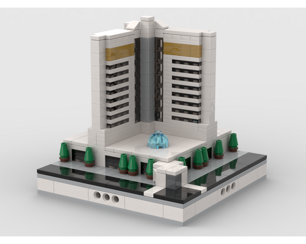 MOC - Mirage Hotel for Modular City Las Vegas - How to build it