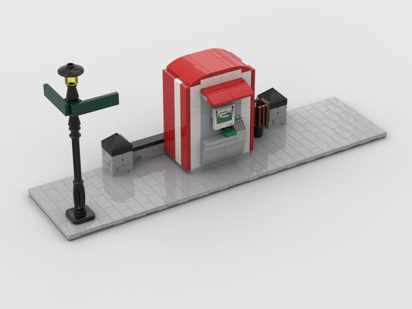 MOC - Modular Corner ATM| Turn every modular model into a corner