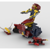 MOC - 31102 Mermaid sitting on a rock Alternative Build