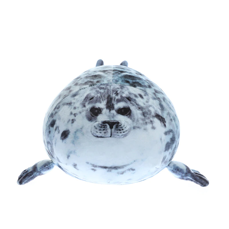 Chubby Seal Plush Pillow