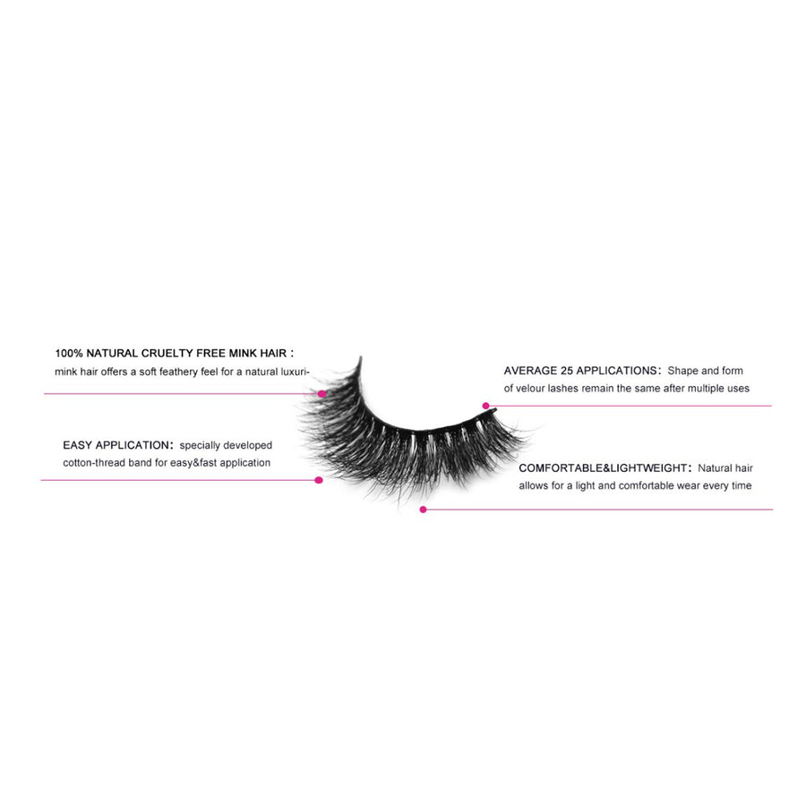 Black Diamond Hollywood Lashes