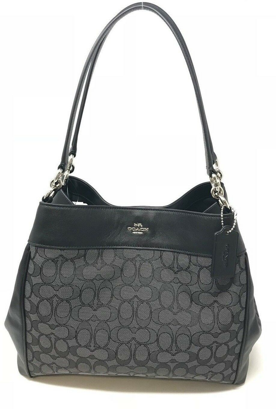 Coach Lexy Shoulder bag in Signature or Legacy Jacquard $375 (Choose Style)