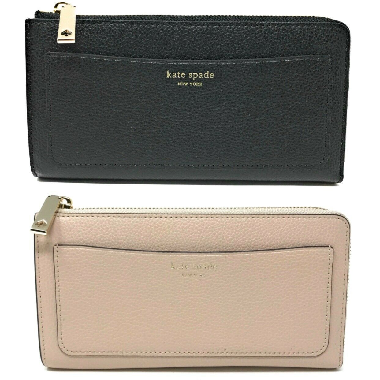 Kate Spade Eva L-Zip Large Continental Wallet Leather (Select Color)