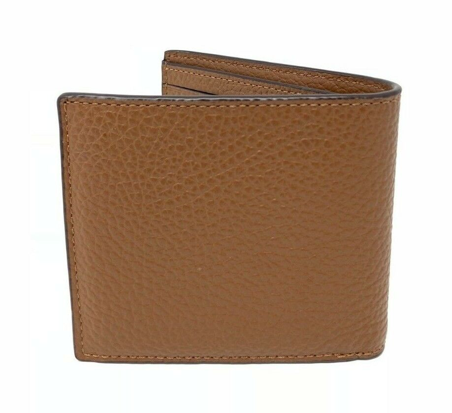 Coach Men's Double Billfold Wallet With Military Patches Sadde F30775 $195