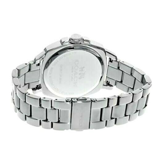 Coach Boyfriend Multi Function Sliver Tone Glitz Women's Watch 14503129 $295