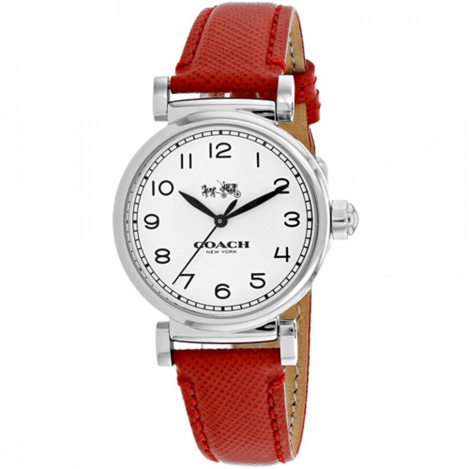 Coach Women's Madison Analog Dress Leather Band Watch 32mm 14502407 $225