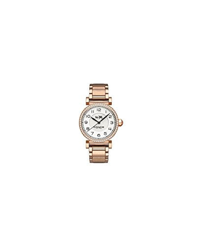 Coach Ladies MADFS Analog Dress Quartz Watch (Imported) 14502398