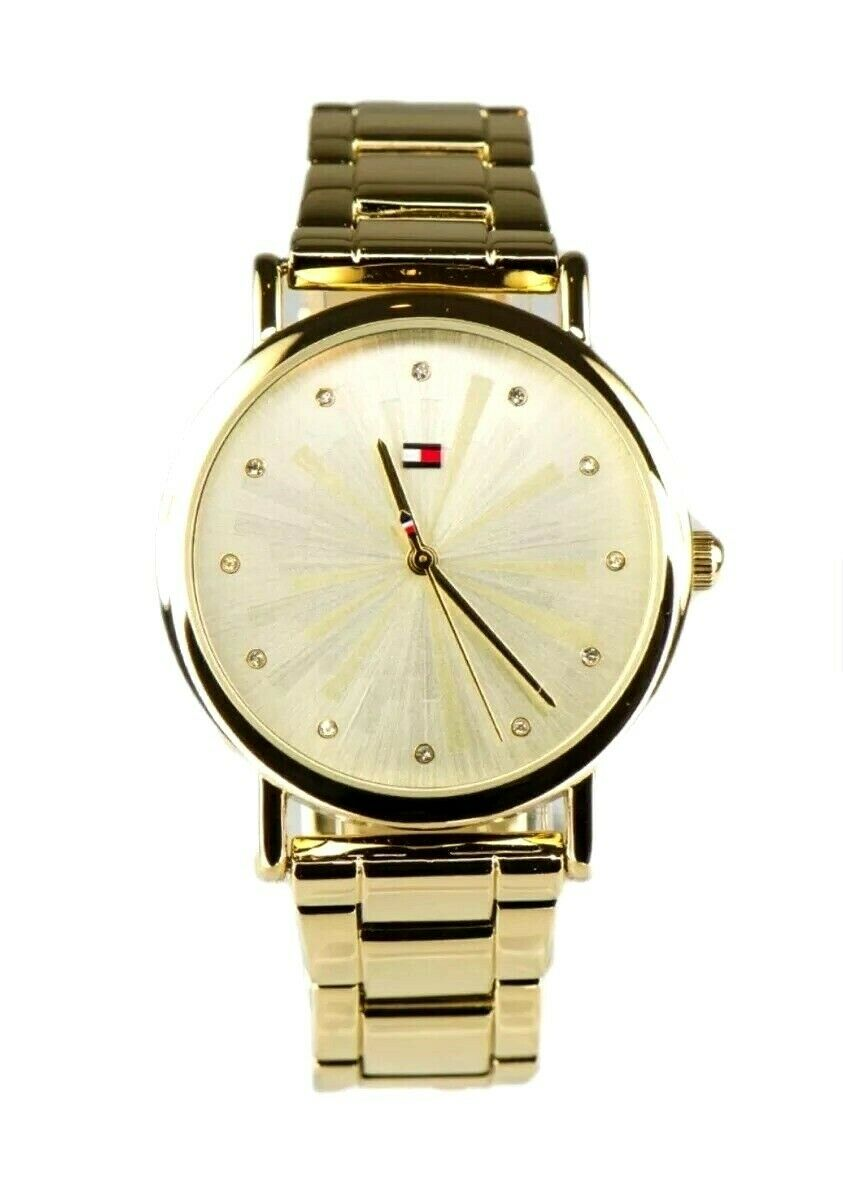 Tommy Hilfiger Women's Watch Gold Tone Stainless Steel 1781900 $95