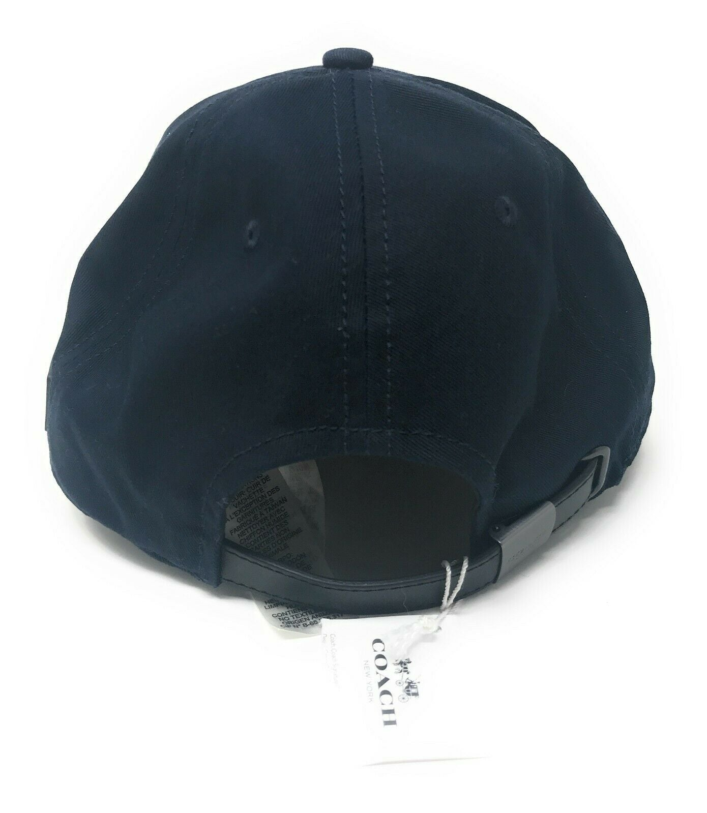 Coach Baseball Cap Americana F26807 with Leather Trim $95