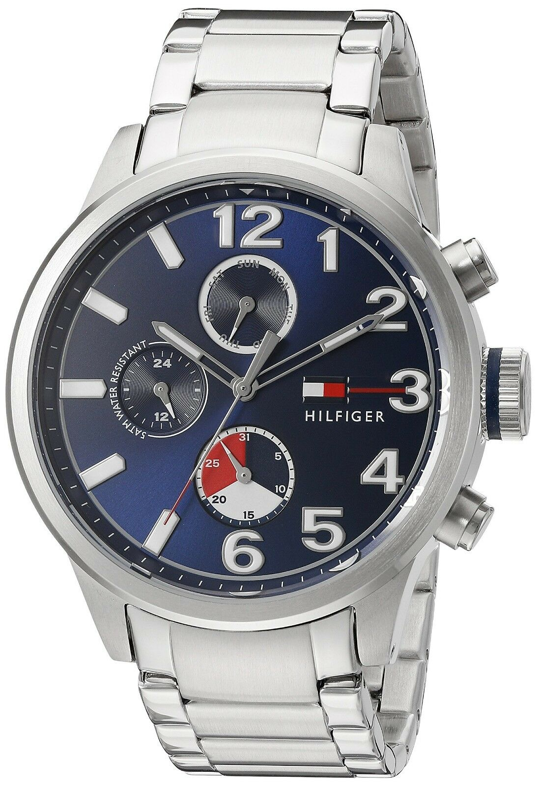 Tommy Hilfiger Men's Quartz Stainless Steel Casual Watch 1791242 $175