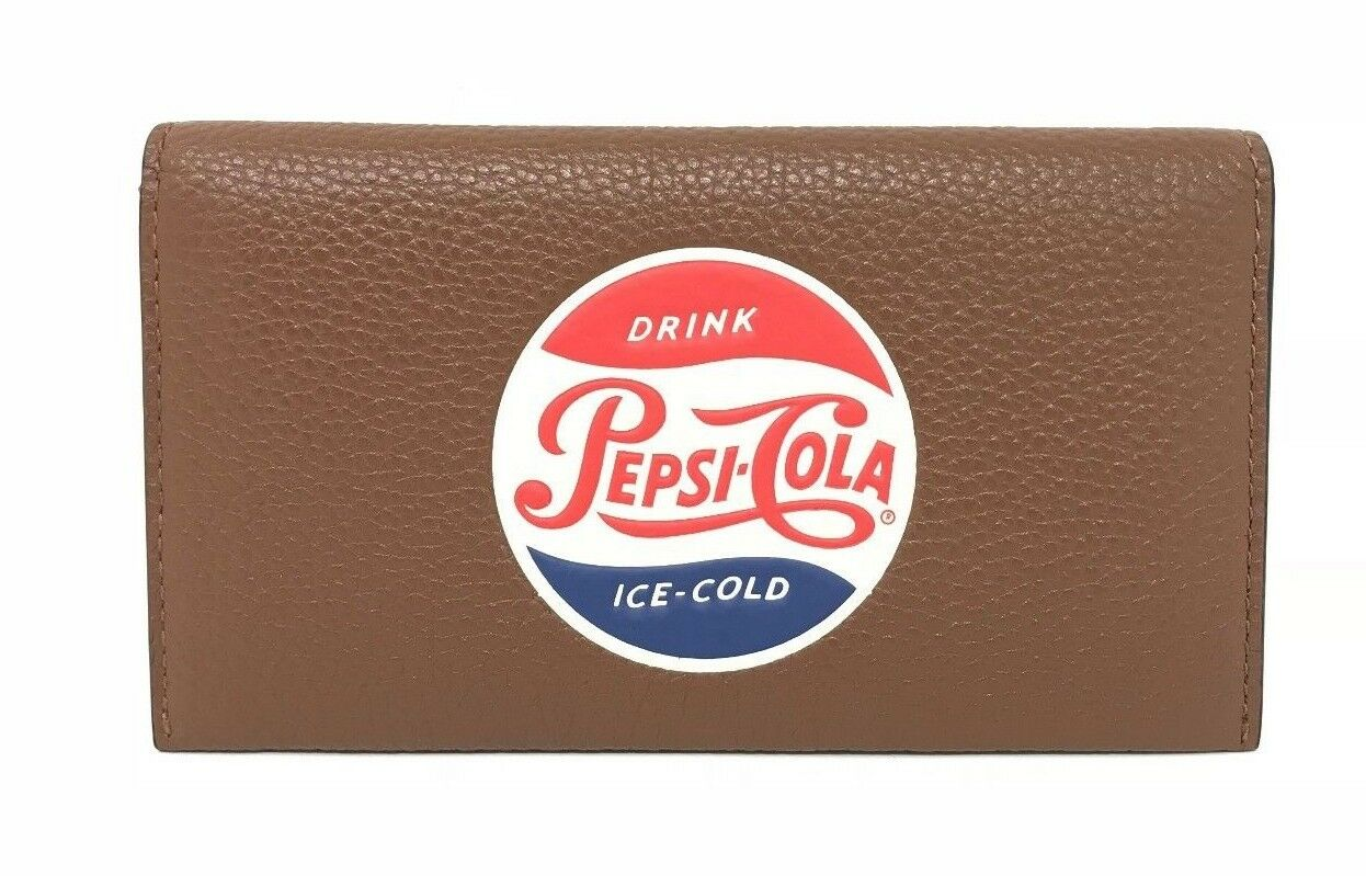 Coach F26084 Universal Phone Case Saddle Limited Edition with Pepsi Motif $150