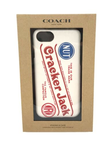 Coach iPhone 8 Case (also 7 & 6S) Limited Edition Cracker Jack F27331 $70