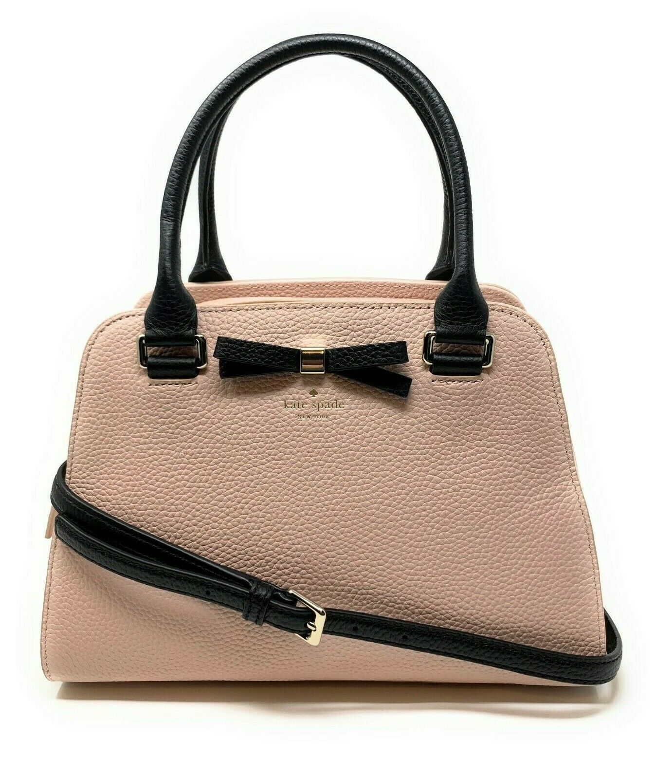 Kate Spade Henderson Street Sawyer Satchel Warm Vellum Leather Handbag WKRU5803 $358