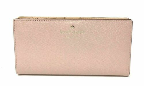 Kate Spade Grand Street Stacy Warm Vellum Leather Wallet WLRU2153 $148
