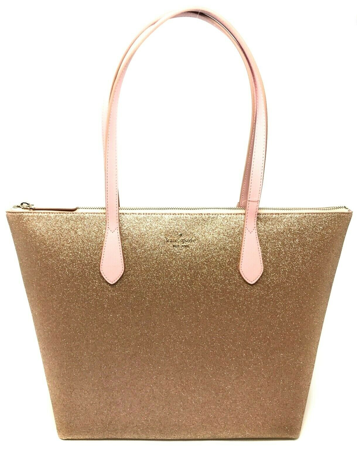 Kate Spade (WKRU6278) Joeley Glitter Large Tote Handbag Bag Purse