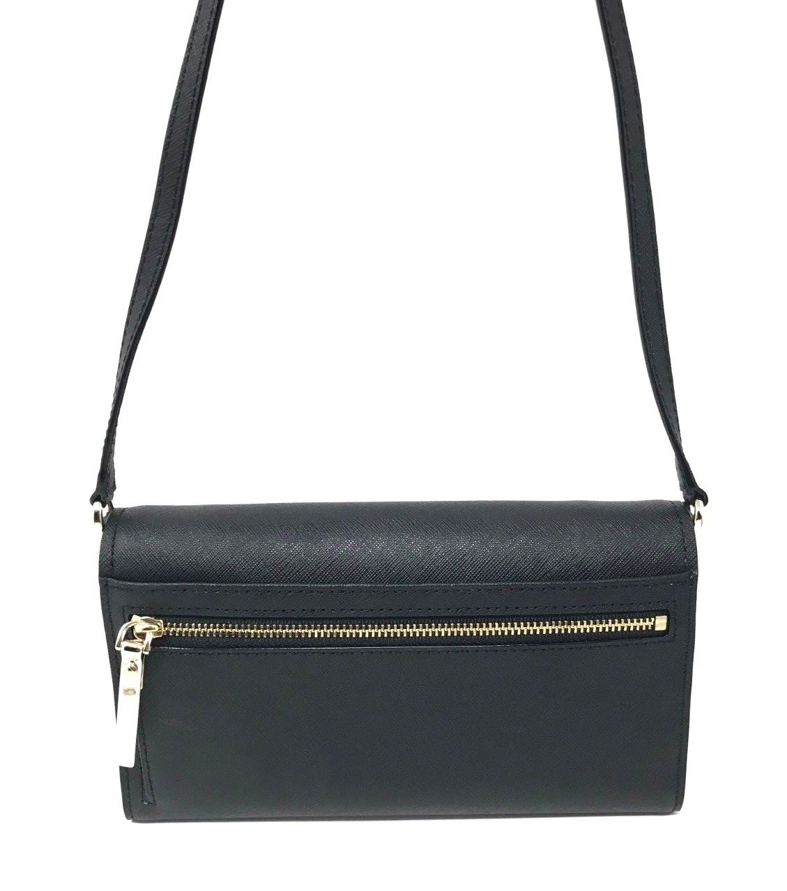 Kate Spade Cameron Street Stormie Black Leather Small Crossbody PWRU5288 $198