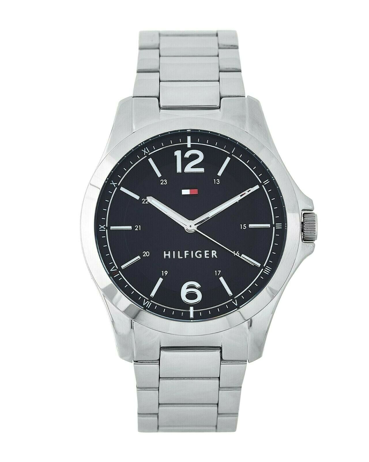 Tommy Hilfiger Men's Water Resistant Stainless Steel Analog Watch 1791460 $110