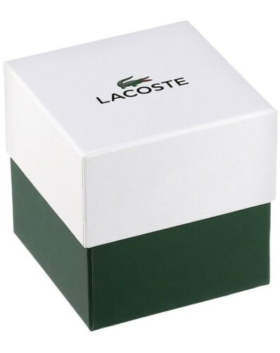 Lacoste Men's Orbital Black Stainless Steel 42mm Watch 2010907 $165