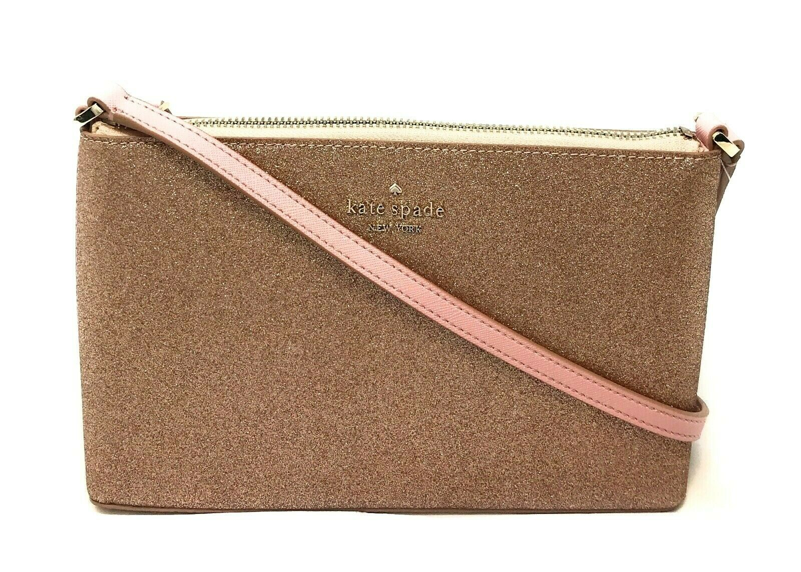Kate Spade Joeley Glitter Crossbody Bag WKRU6288 $149