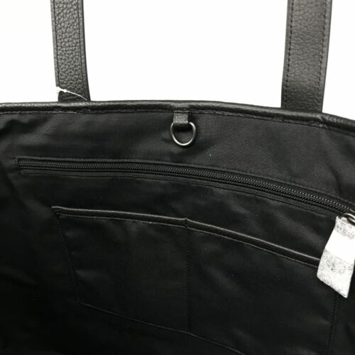 Coach Men's West Tote In Colorblock Slate/Black Pebble Leather Bag F23248 $550