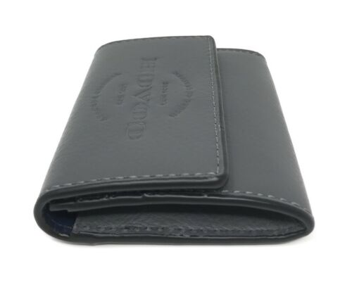 Coach F24652 Coin Case Graphite Natural Leather Men's Wallet $95