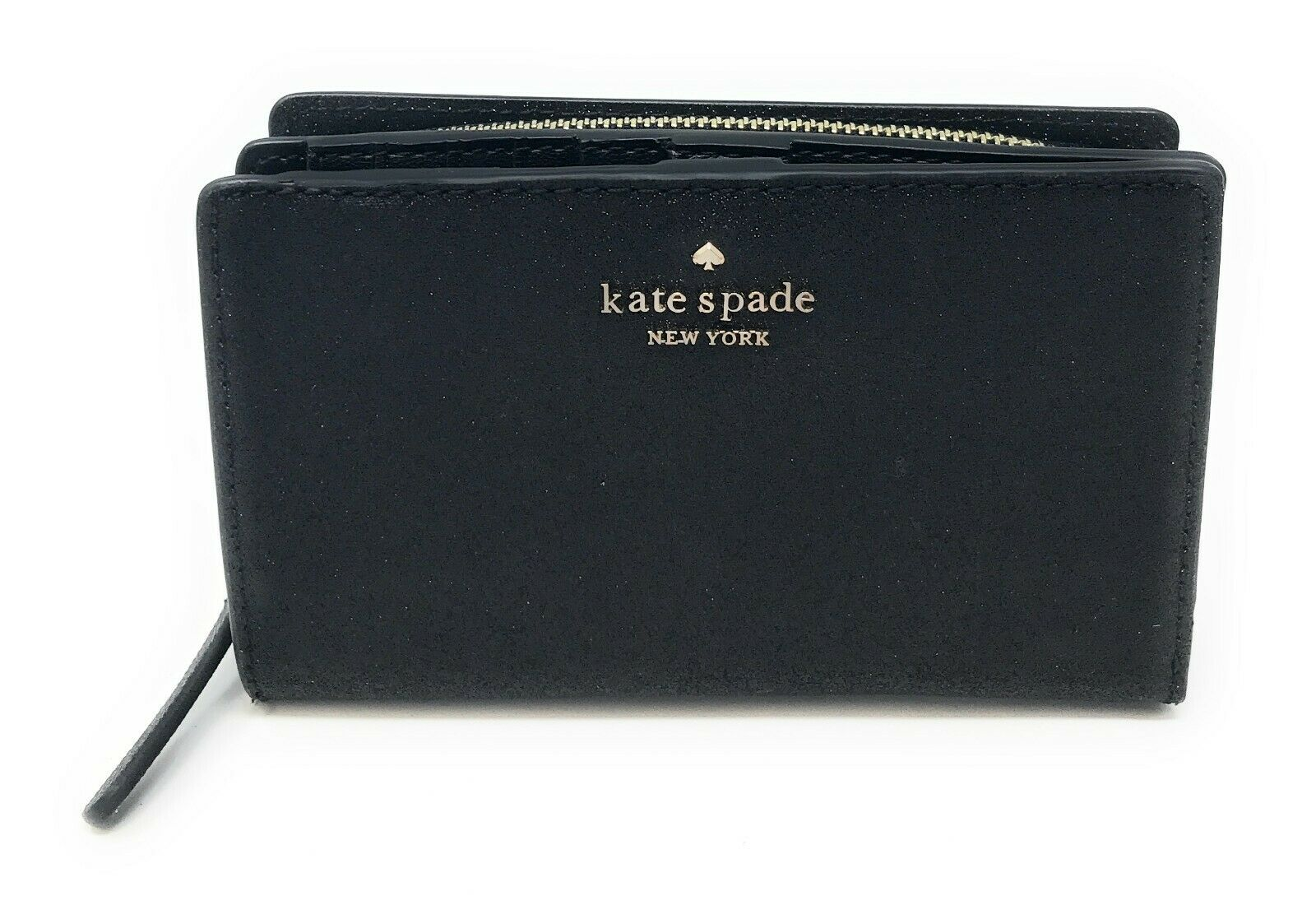 Kate Spade Joeley Glitter Medium Bifold Wallet Card Holder WLRU5762 $149