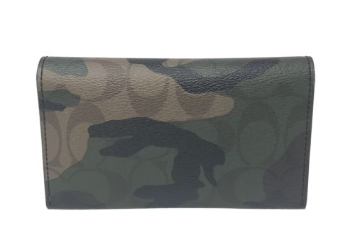 Coach Men's Universal Phone Case In Signature Camo Coated Canvas F12000 $125