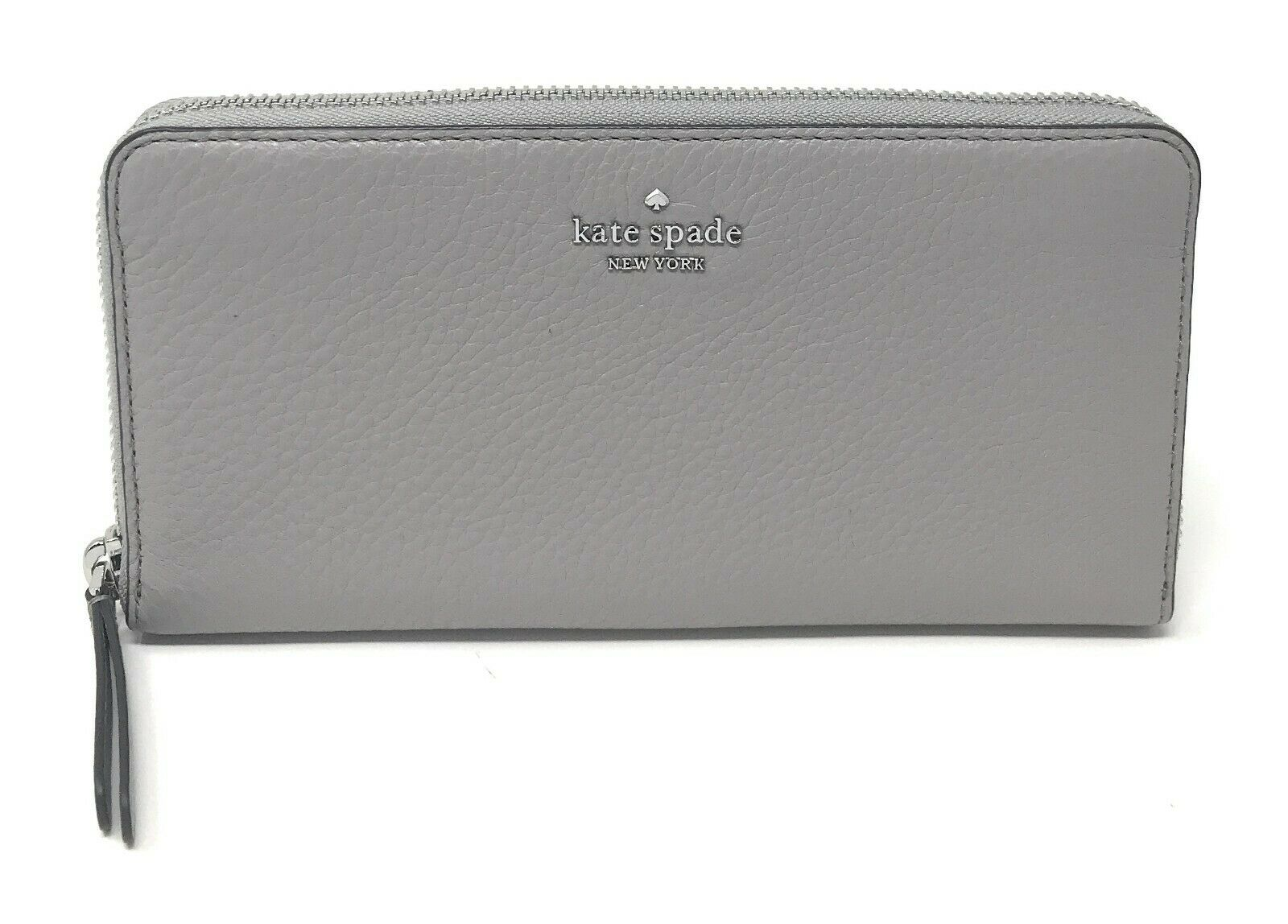 Kate Spade Jackson Street Large Continental Zip Wallet Leather WLRU5833 $189