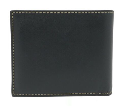 Coach F21384 3 In 1 Cars Smooth Calf Leather Men's Wallet $175