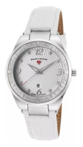 NWT Swiss Legend Passionata Ladies Watch 10220SM-02-WHT $795