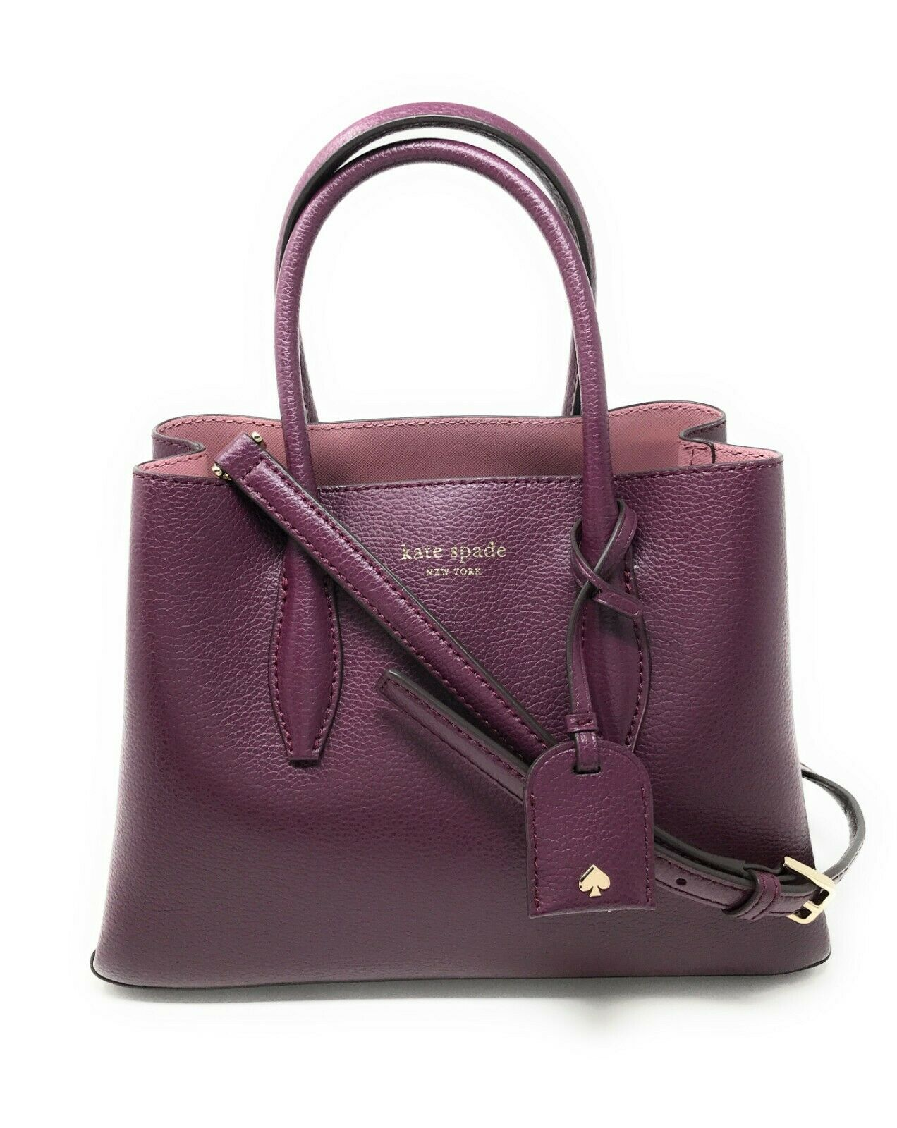Kate Spade Eva Small Satchel Leather Crossbody Bag WKRU5697 WKRU5867