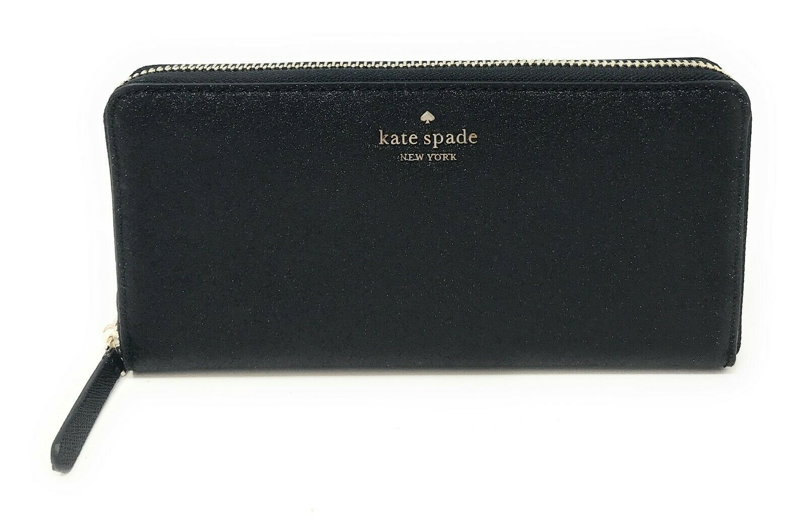 Kate Spade Joeley Large Continental Glitter Wallet Zip Around WLRU5757 $189