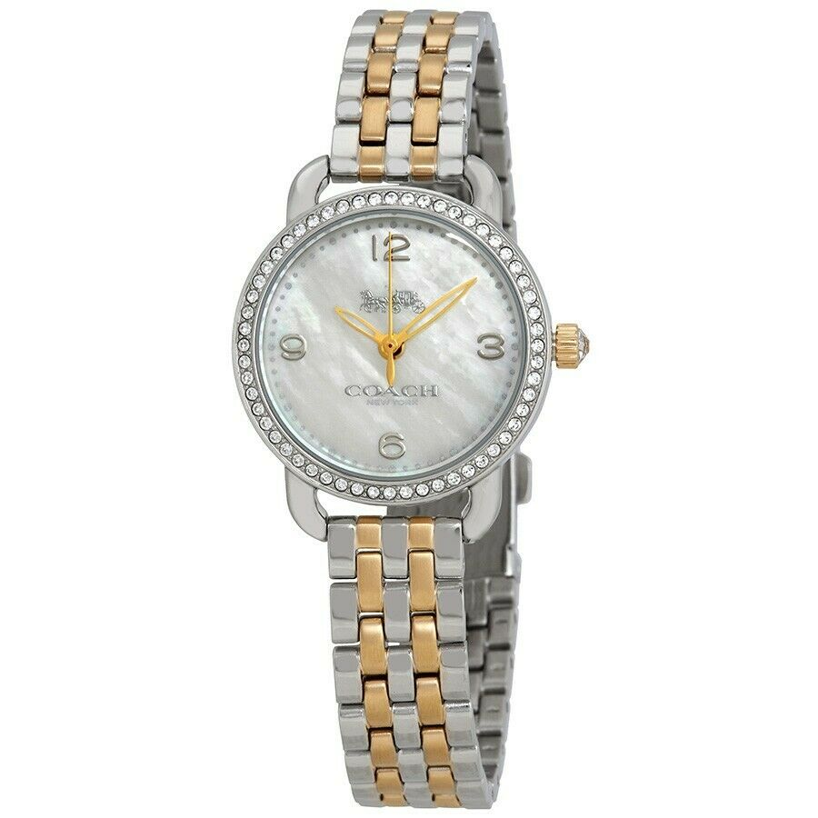 Coach Delancey Mother of Pearl Dial Ladies Watch 14502480