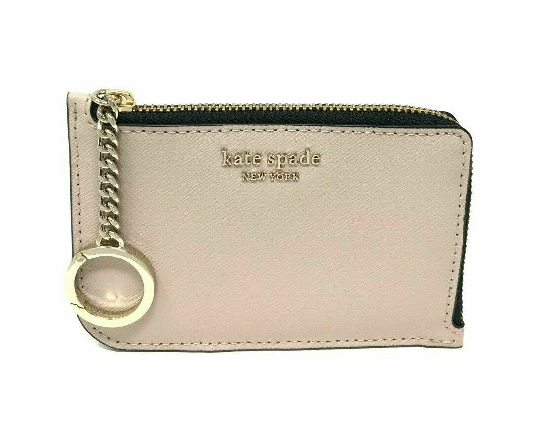 Kate Spade Cameron Medium L-Zip Card Holder Coin Holder Clutch WLRU5491 $89