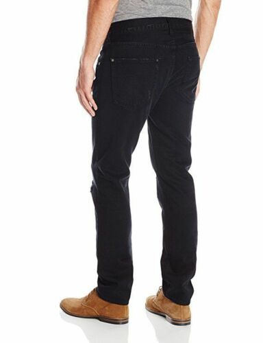 7 For All Mankind NEW Black Mens Size 34 Paxtyn Slim Skinny Jeans MSRP $228 w/T