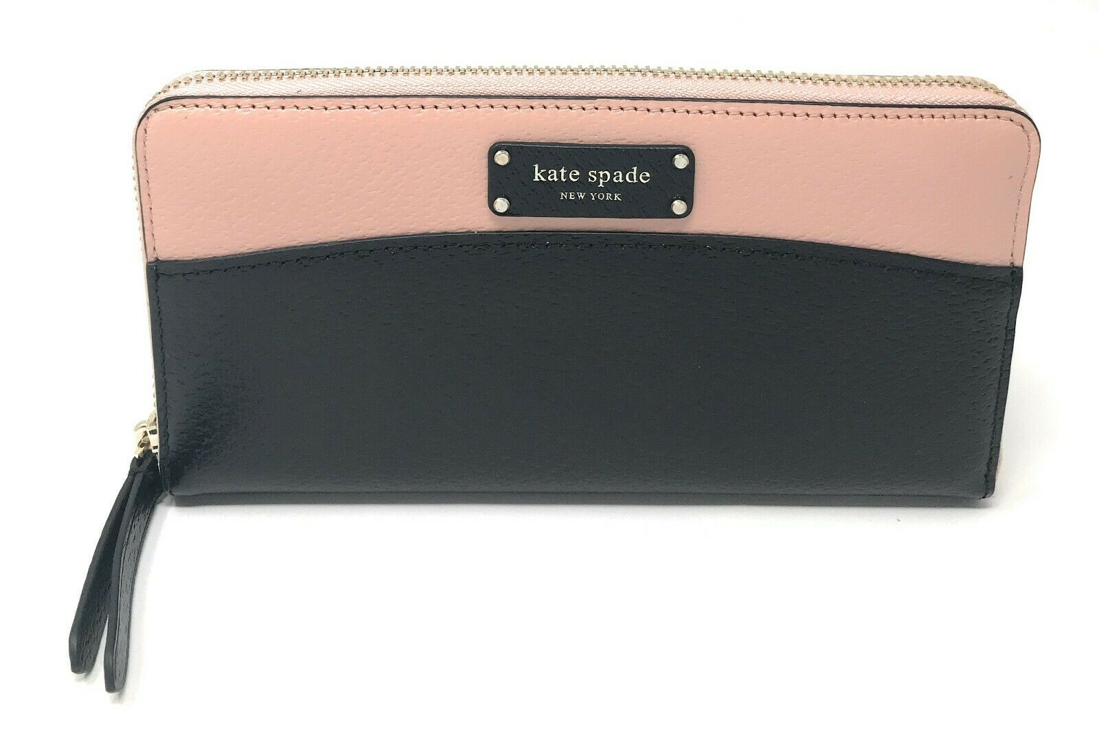 Kate Spade Jeanne Large Continental Wallet Zip Around Leather Clutch $189