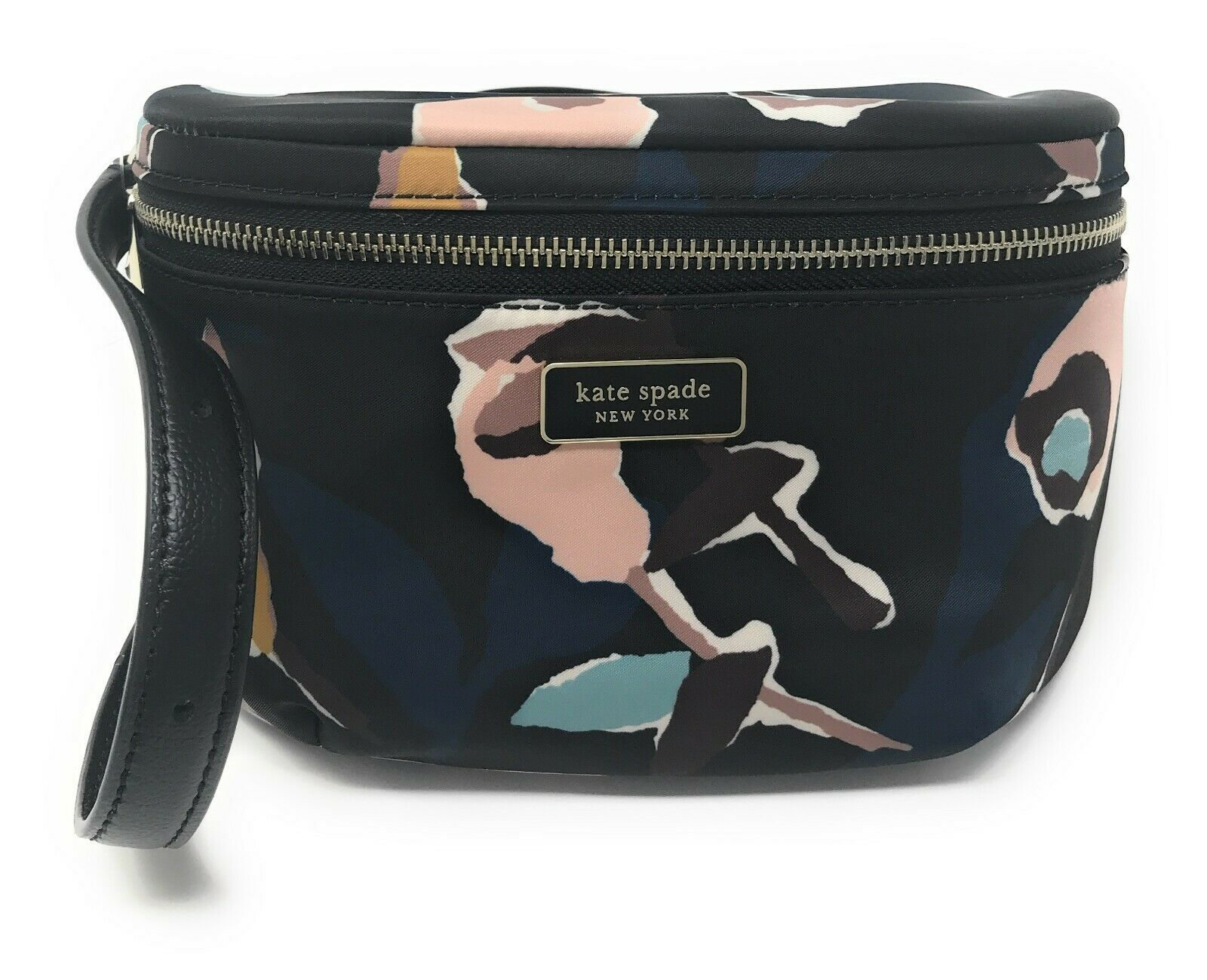 Kate Spade Dawn Paper Belt Bag Fanny Pack Black Floral WKRU6099 WKRU5959 $179