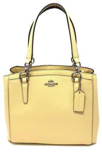 Coach Crossgrain Leather Minetta Handbag Crossbody Shoulder Bag F57847 $325