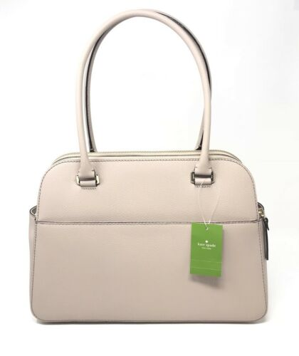 Kate Spade Grove Street Terri Large Shoulder Bag Almondine Leather Tote WKRU4570 $379