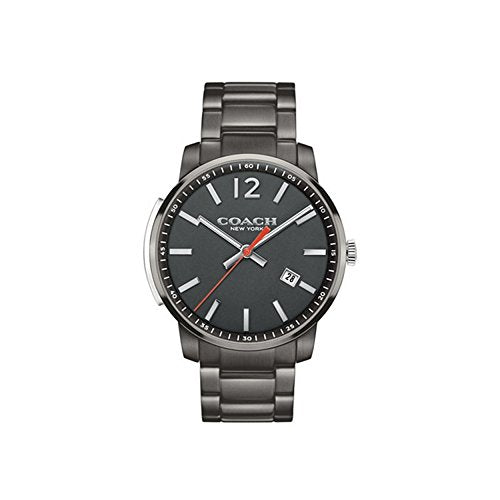 Coach Men's Bleecker Slim Dark Grey Sandblast Watch
