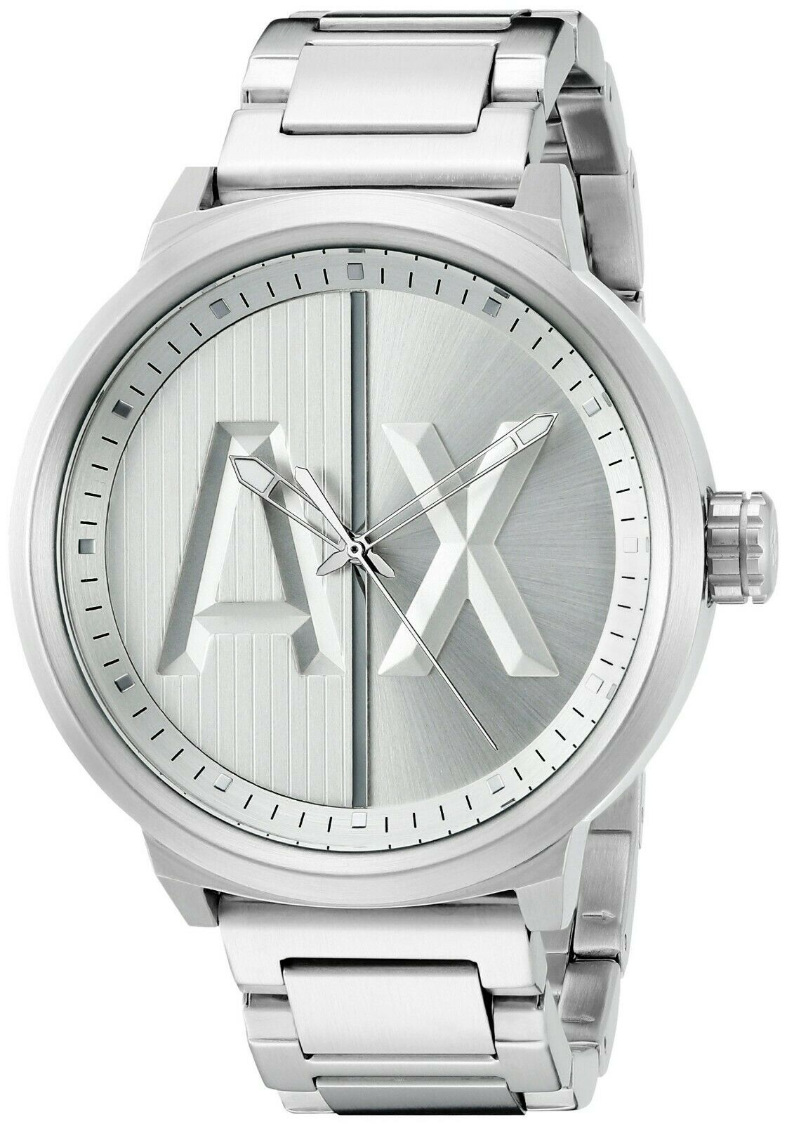 Armani Exchange Men's Stainless Steel Bracelet Watch 49mm AX1364 $190