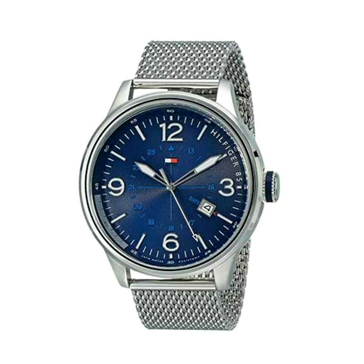 Tommy Hilfiger Sophisticated Sport Stainless Steel Watch Mens 1791106