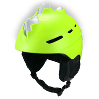 Neon Yellow, Bone Spike, Ski Helmet